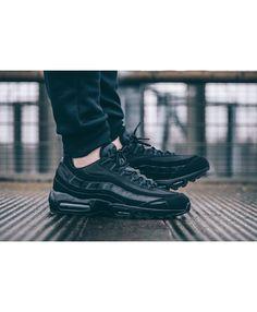 Nike Air Max 95 All Black Shoes Sneaker Magazine 0ae9f1ab2cc5e