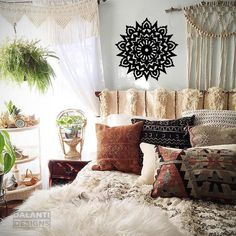 Cozy bohemian style bedroom design ideas Boho Chic Cool Lovely And Cozy Boho Bedroom Style Https Homedecort Cozy Bedroom Decorating Ideas Cozy Bedroom Color Lifestyle Interior Design Trends Cool Lovely And Cozy Boho Bedroom Style Https Homedecort Cozy Bohemian Bedroom Design, Boho Room, Bedroom Designs, Bohemian Interior, Home Interior, Interior Design, Natural Interior, Design Interiors, Deco Boheme