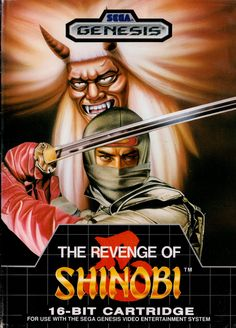 The Revenge of Shinobi for the Genesis