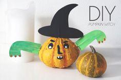 Bloesem kids   DIY Halloween pumpkin witch by Yufrukt