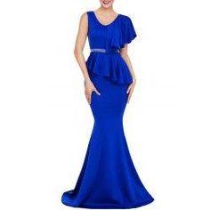 #trendsgal.com - #Trendsgal Asymmetric Mermaid Prom Dress - AdoreWe.com