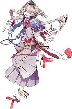Imanotsurugi character reference Touken Ranbu