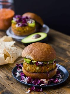 Red Lentil, Smashed Chickpea and Millet Burgers - Vegan and Gluten Free   Veggie and the Beast