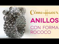 Como Crear Anillos de Malla Tubular con Rococo en Punto Peruano - YouTube
