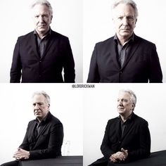 "April 2015 -- Alan Rickman - from a photo shoot by Jamie Simonds for BAFTAs ""A Life in Pictures."""
