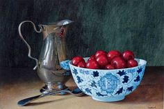 Artist: Tim Gustard; Painting: Just a Bowl...