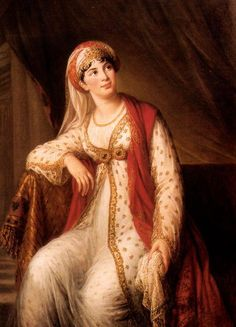 Giuseppina Grassini in the role of Zaire, 1804 - Louise Elisabeth Vigee Le Brun -