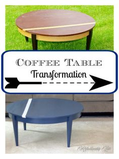 Get all the good tips on how to makeover your own coffee table! The most frugal fabulous way to refinish furniture. Furniture Makeover, Diy Furniture, Redoing Furniture, Coffee Table Makeover, Cheap Diy Home Decor, Cool Diy Projects, Project Ideas, Wood Projects, Frugal Living Tips