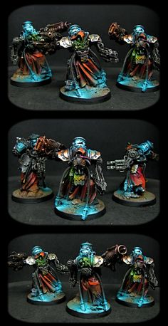 The Internet's largest gallery of painted miniatures, with a large repository of how-to articles on miniature painting Warhammer Armies, Warhammer 40k Figures, Warhammer Paint, Warhammer Models, Warhammer 40k Miniatures, Warhammer 40000, Miniaturas Warhammer 40k, Superbat, Fantasy Miniatures