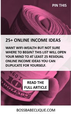 The reality is: there are tons of ways to make money online and maybe the biggest hurdle for most is just being able to actually see real life examples of online income ideas. Each idea will come with a little learning curve and (naturally) some time to set them up, but all are viable residual Read More