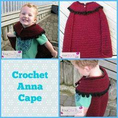 Frozen Inspired Anna Cape