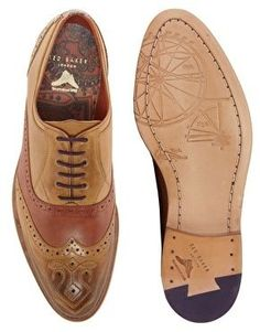 Enlarge Ted Baker Deslin 4 Leather Brogues | Raddest Men's Fashion Looks On The Internet: http://www.raddestlooks.org - wide mens shoes, mens shoes & boots, leather mens shoes