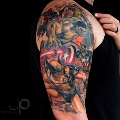 Marvel tattoo | Inked Magazine                              …