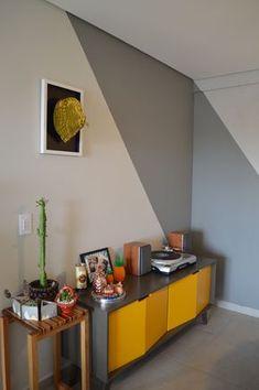 Living Room Tv Unit Designs, Bedroom Wall Designs, Wall Decor Design, Accent Wall Bedroom, Paint Colors For Living Room, Room Paint, Home Office Decor, Home Decor Bedroom, Wall Colors
