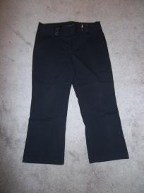 Black Stretch Fit Capri Pants  $10.00