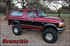 great two tone bronco