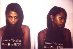 Lil Kim (aka Kimberly Jones) was arrested by New Jersey cops in July 1996 and charged with possession of marijuana. The rapper was rounded up after a police raid on the Teaneck home of Biggie Smalls (aka Christopher Wallace), her rap rabbi. Hugh Grant, Bad Plastic Surgeries, Plastic Surgery, Janis Joplin, Steve Mcqueen, Jim Morrison, Mick Jagger, Johnny Cash, Robert Downey Jr