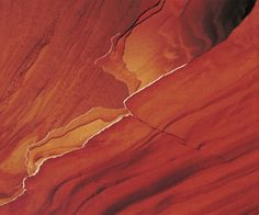 Edges of eroding sandstone layers