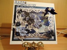 Frame, Happy, Cards, Handmade, Home Decor, Picture Frame, Hand Made, Decoration Home, Room Decor