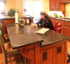 Wheelchair Accessible Kitchens Photos