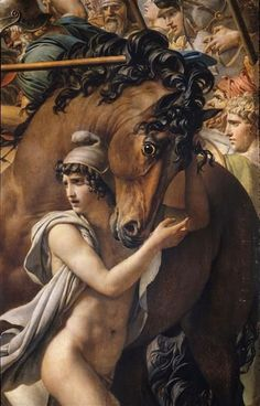 Jacques-Louis David (1748-1825), Les Sabines / The Sabine Women ©️️ RMN-Grand Palais / Musée du Louvre - Daniel Arnaudet / Christian Jean