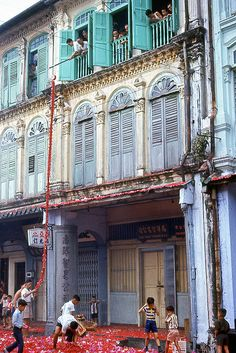 Shop house fronts from yesteryear