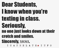 This totally happened in History class today....talking to  you hahhaa