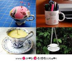 Você tem um monte de xícaras em casa, com certeza. Provavelmente as usa para um cafezinho, um chá... Mas elas podem ser úteis de o...