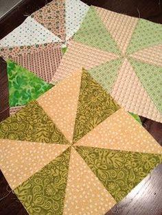 Mighty Distractible: Pinwheel Quilt Blocks