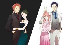 Love is Hard for an Otaku Otaku Anime, Manga Anime, Anime Art, Anime Couples Manga, Cute Anime Couples, Koi, Gekkan Shoujo, Ecchi, Hard To Love