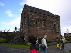 The oldest building in Edinburgh Castle, and in Edinburgh, is the small St. Margaret's Chapel. One of the few 12th-century structures surviving in any Scottish castle.
