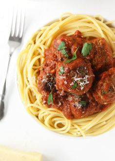 Classic Spaghetti and Meatballs | The Kitchen Paper