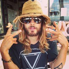 jaredleto Me. A hat. In Mexico. Hello 2014. Xoxo