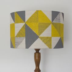 Geometric Print Lampshade