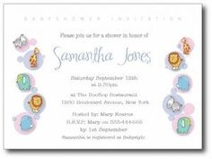 The perfect combination of elephant baby shower invitations baby baby shower invitation wording att yahoo search results filmwisefo Image collections