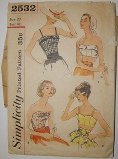 1958 Simplicity # 2532