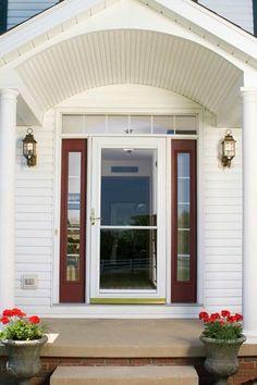 wood screen door, wooden combination storm doors , authentic ...