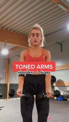 Gym Workout Videos, Gym Workout For Beginners, Fitness Workout For Women, Fitness Goals, Gym Workouts, Fitness Tips, Fitness Motivation, Barre Arm Workout, Bora Malhar