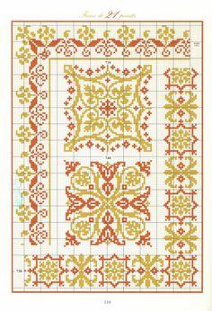 Biscornu Cross Stitch, Cross Stitch Borders, Cross Stitch Rose, Cross Stitch Designs, Cross Stitching, Cross Stitch Embroidery, Seed Bead Patterns, Perler Patterns, Loom Patterns