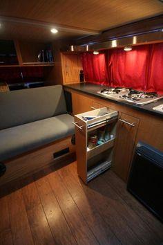 Drive Nacho Drive » Installing Custom Cabinets in Nacho Vanagon