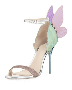 Sophia Webster Chiara, Sophia Webster Shoes, Shoes Heels Wedges, Pumps, Shoes Sandals, Pictures Of High Heels, Taylor Swift, Butterfly Heels, Wing Shoes