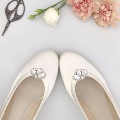 A gorgeous new addition to our collection are our Deco wedding shoe clips Casey! Discover more through our link in bio. Bridal Shoes, Wedding Shoes, Full Gown, Wedding Dress Trends, Wedding Tips, Types Of Gowns, Traditional Gowns, Bridal Skirts, Bridal Shower Tea