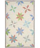 RugStudio presents Martha Stewart By Safavieh Msr3751 Lemoyne Star C Hand-Tufted, Good Quality Area Rug