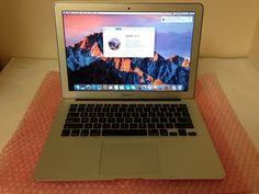 """Apple MacBook Air 6,2 13"""" Intel Core i5 @ 1.3GHz 256GB SSD 4GB RAM (Mid-2013)"""
