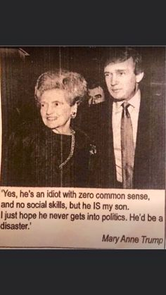 Donald Trump, Mother Knows Best, Trump Lies, Political Quotes, Social Skills, Dumb And Dumber, Funny Memes, Hilarious, Shit Happens