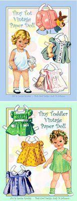 Tiny Tot and Tiny Toddler