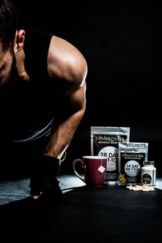 Get an energy boost with Mr. T Tox to help you get through your workout! #healthytips