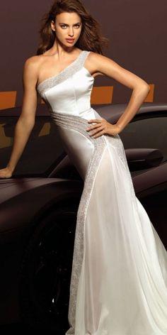 Irina Shayk for Alessandro Angelozzi Couture