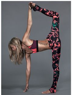 Beautiful legging and asana