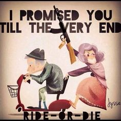 Till the very end!!